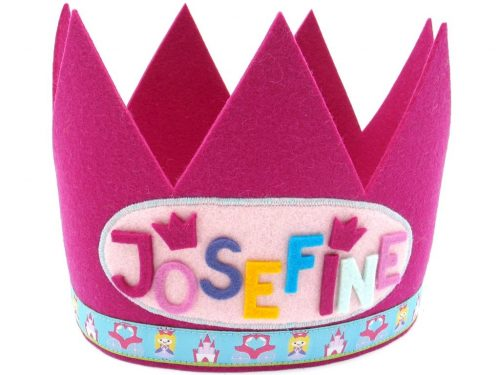 Geburtstagskrone Prinzessin in pink